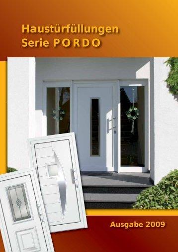 Haustürfüllungen Serie P O R D O