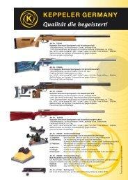Art. Nr. 010041 Keppeler Benchrest Sportgewehr mit ...