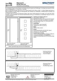 7.2 Wohnraumtür ASTRA Dekor-Art - Grauthoff Türengruppe