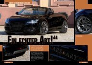 Tuning Audi TT - Fahrzeugveredelung by Cars and Art