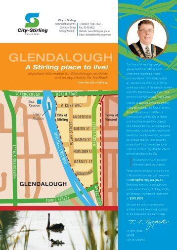 Glendalough A Stirling Place to Live - City of Stirling