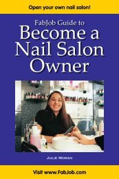 FabJob Guide to Become a Nail Salon Owner - Fabjob.com