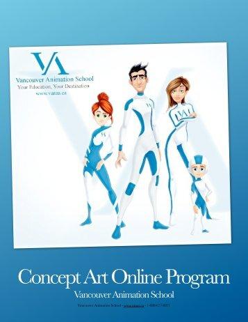 Concept Art Online Program - Vancouver Animation Online School