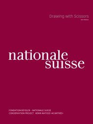 Matisse Drawing with Scissors - Nationale Suisse Group