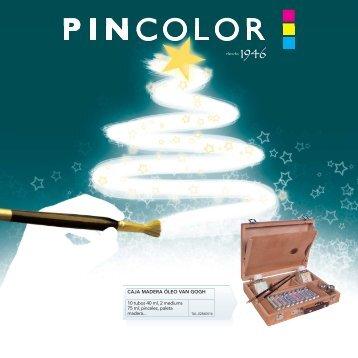caja madera óleo van gogh - Pincolor