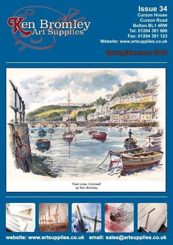 sales@artsupplies.co.uk Issue 34 - Ken Bromley Art Supplies