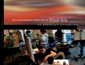 Visual Arts - UC Berkeley Extension - University of California, Berkeley