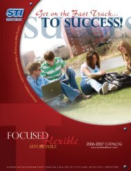 is accepted at Bellevue University. STI associate's degrees
