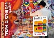 Teken- & schilderspullen najaar 2012