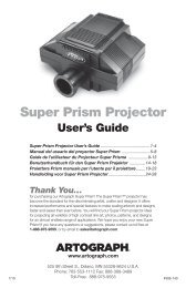 Super Prism Projector