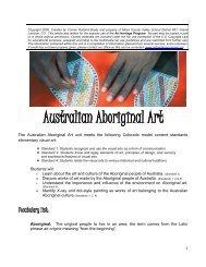 Australian Aboriginal Art - Art Heritage Program