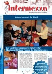 Das Land Niedersachsen und die Leester - in der Musikschule ...