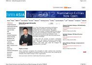 Debunking age-old myths, HRMasia.com, 20 June - The GMP Group