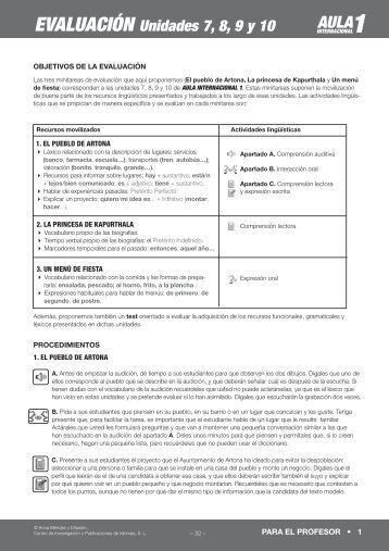 Soluciones M S EJERCICIOS - Aula Internacional - Free Download PDF Ebook