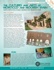 THE CULTURES AND ARTS OF MOROCCO AND MOORISH SPAIN
