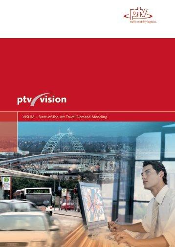 VISUM – State-of-the-Art Travel Demand Modeling - PTVAP