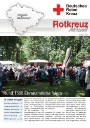 Rund 1500 Ehrenamtliche feiern - Deutsches Rotes Kreuz in der ...