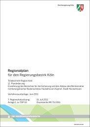 Tagesordnungspunkt 10-1 - Bezirksregierung Köln