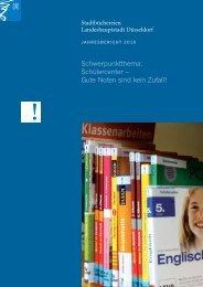 Jahresbericht der Stadtbüchereien 2010 als pdf ... - Stadt Düsseldorf