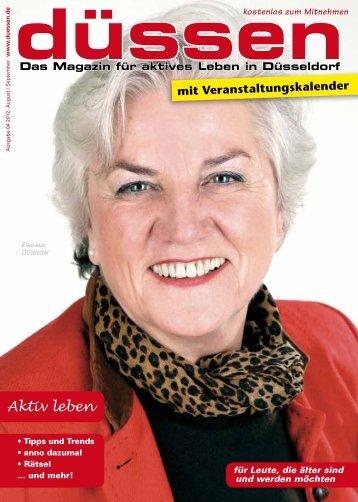 düssen - Das Magazin für aktives Leben in Düsseldorf