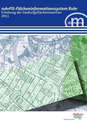 ruhrFIS-Flächeninformationssystem Ruhr - Metropole Ruhr