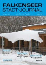 Februar 2010 - Falkenseer Stadtjournal