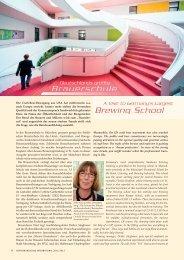 Deutschlands größte Brauerschule / A Visit to Germany's Largest