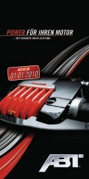 POWER FÜR IHREN MOTOR - Autohaus Ostermaier GmbH