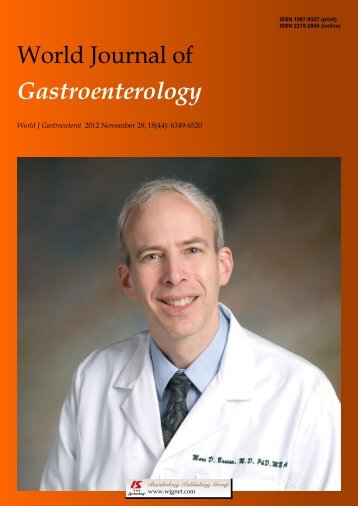 New approach to anal cancer - World Journal of Gastroenterology