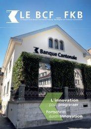 Le BCF_FKB No 01 - Banque Cantonale de Fribourg
