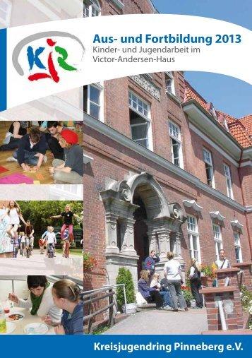 Aus- und Fortbildung 2013 - Kreisjugendring Pinneberg eV