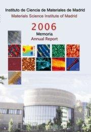 PDF 9,8MB - Materials Science Institute of Madrid - Consejo ...