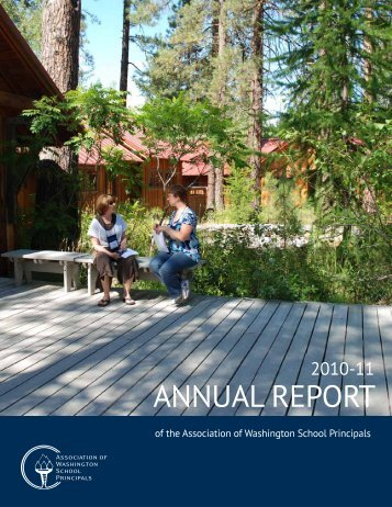 ANNUAL REPORT - Association of Washington School Principals
