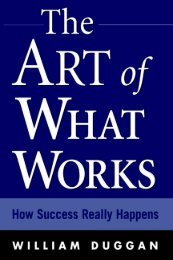 The Art of What Works - Motivational Magic