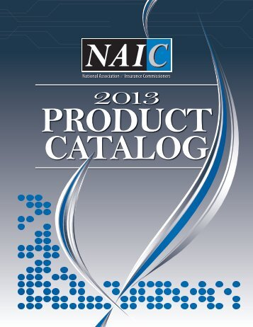 NAIC Publications - National Association of Insurance Commissioners