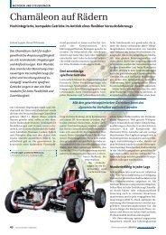 Chamäleon auf Rädern - Harmonic Drive AG