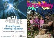 Summer fun! - Knowsley Metropolitan Borough Council