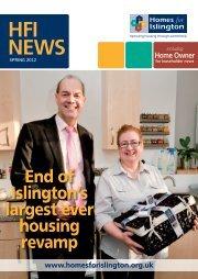 HFI NEWS - Homes for Islington