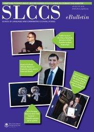eBulletin - School of Languages & Comparative Cultural Studies ...