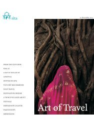Art of Travel - Sita India