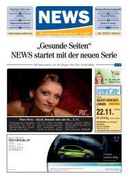 """""""Gesunde Seiten"""" NEWS startet mit der neuen ... - NEWS-ONLINE.at"""