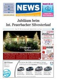 Jubiläum beim Int. Peuerbacher Silvesterlauf - NEWS-ONLINE.at
