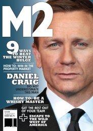 daniel craig - M2 Magazine
