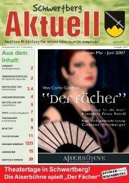 Gemeindezeitung Nr. 33 im April 2007 - Schwertberg