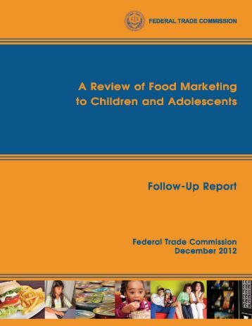A Review of Food Marketing to - Wall Street Journal
