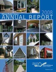 2008 Annual Report - Ottawa Public Library