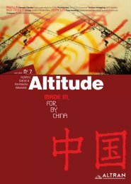MADE IN, FOR, BY, CHINA - Altran