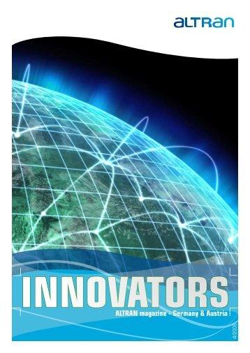 INNOVATORS ALTRAN magazine - Germany & Austria