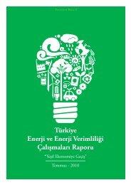 Türkiye Enerji ve Enerji Verimliliği Çalışmaları Raporu - ENVER