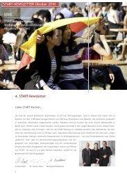 Newsletter Nr. 4 / 2010 - START-Stiftung